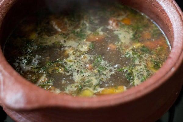 making pepper cumin rasam recipe
