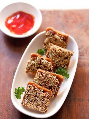 sesame toast recipe