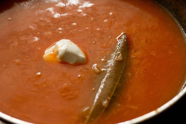 add cream to tomato soup