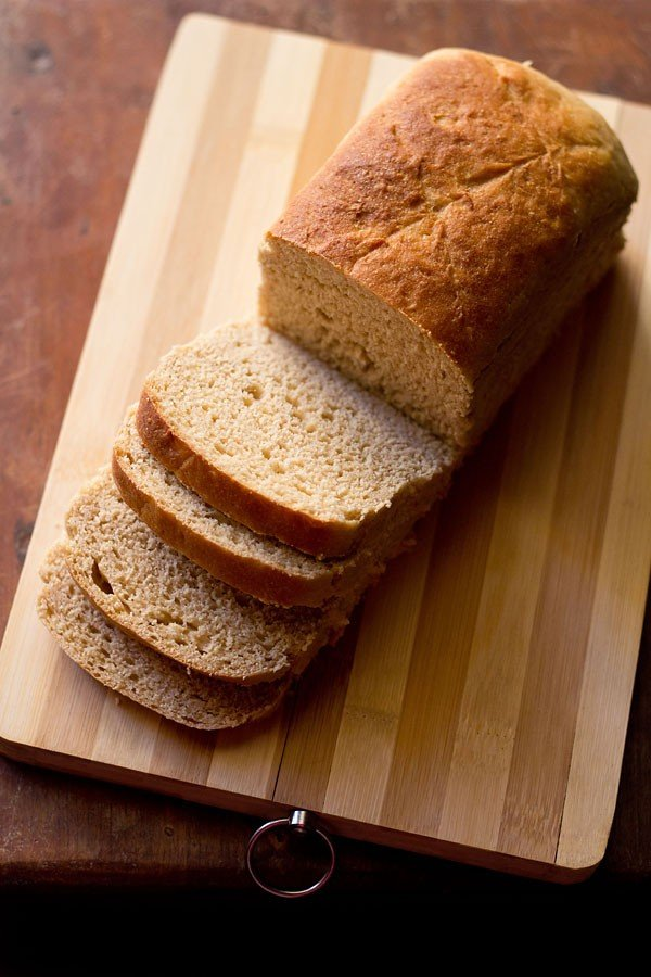 100% whole wheat bread recipe | atta bread | whole wheat bread