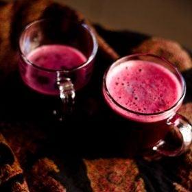 black grapes juice recipe, black grapes juice