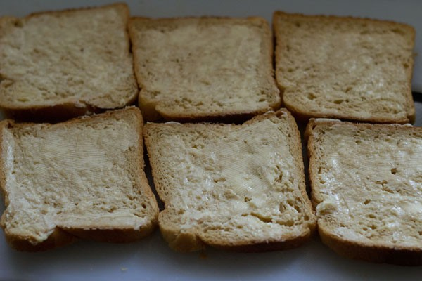 butter for making grilled cheese sandwich recipe