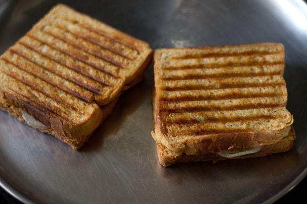 grill - veg sandwich recipe