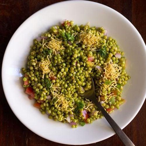 hurda bhel recipe, sorghum bhel recipe, ponk chaat recipe