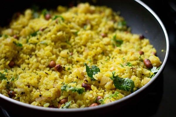 kanda batata poha recipe, onion potato poha recipe
