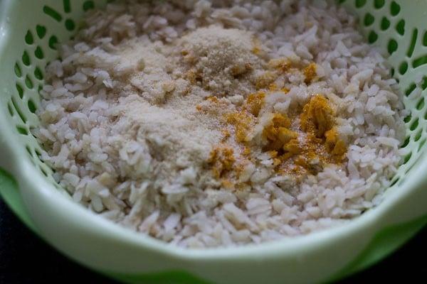 salt for kanda batata poha recipe