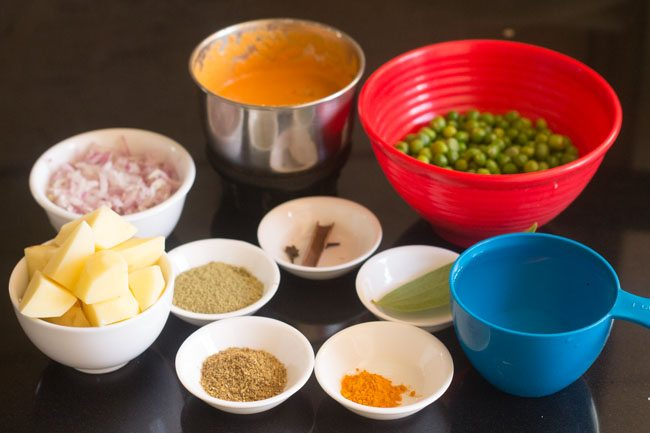 how to cook green peas in pressure cooker