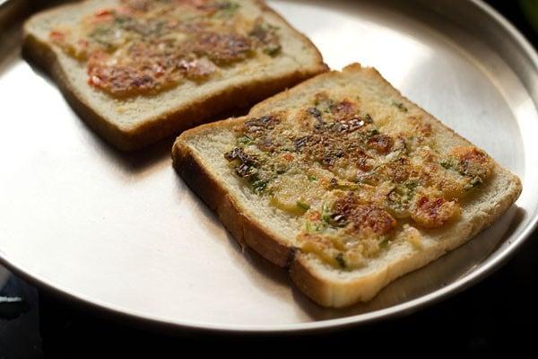rava toast recipe