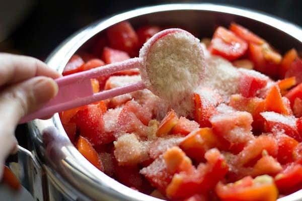 sugar for tomato ketchup recipe