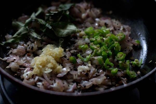 add ginger garlic paste to make bonda