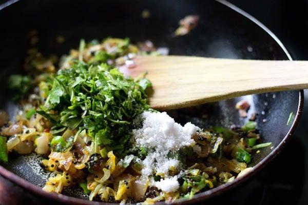 coriander for making aloo bonda