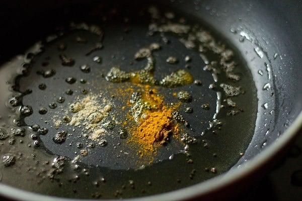 spices for maharashtrian amti dal recipe