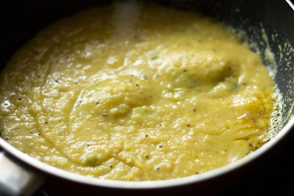 adding dal for amti dal recipe