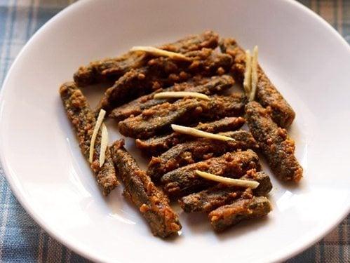 besan bhindi masala recipe