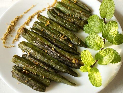 punjabi bharwan bhindi recipe