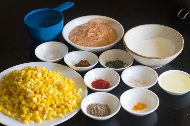 palak corn recipe