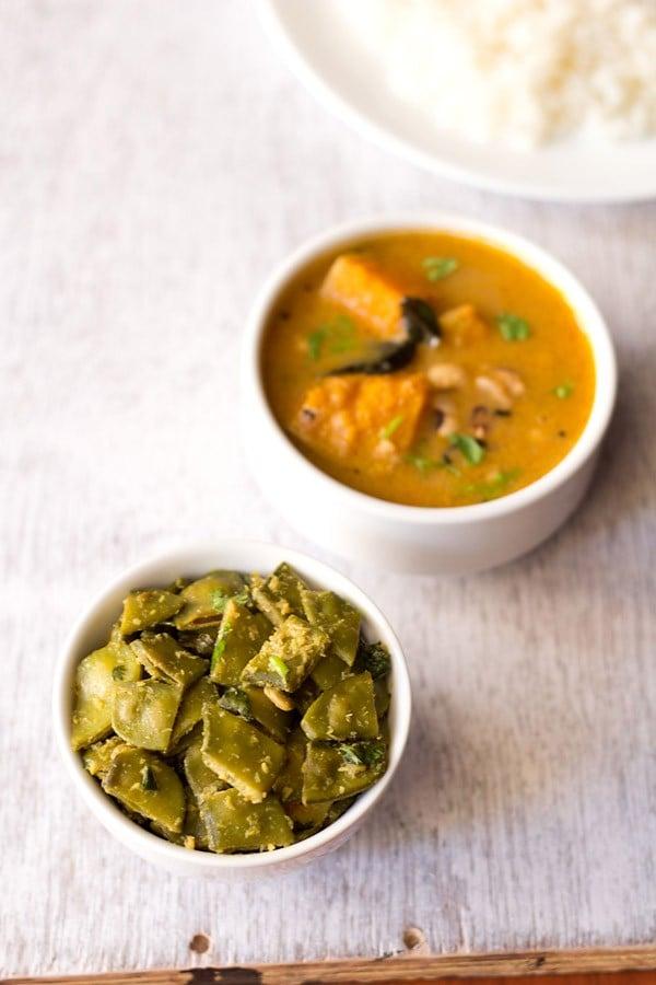 papdi bhaji or val papdi bhaji recipe, how to make papdi bhaji recipe