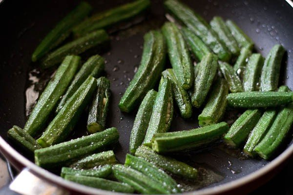 bhindi or okra