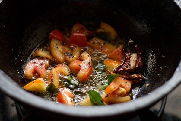 preparing rasam recipe