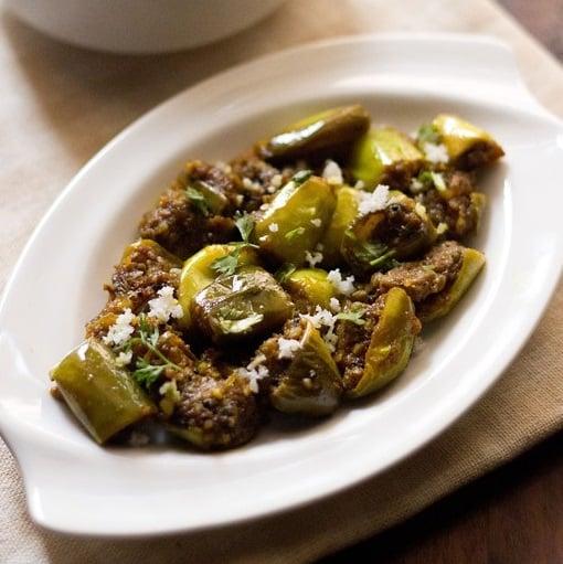 vangyachi bhaji recipe, vangi bhaji recipe, baingan ki sabzi recipe