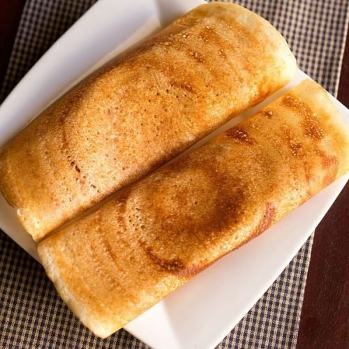 dosa recipe with rice flour and urad flour, easy dosa recipe