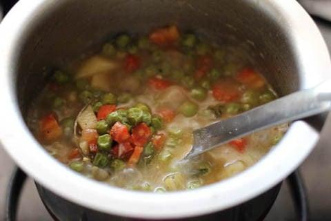 making kerala veg stew recipe