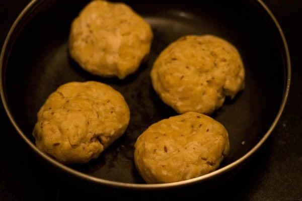 dough balls for papdi recipe