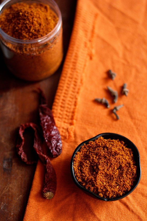 bisi bele bath masala recipe, how to make bisi bele bath masala powder