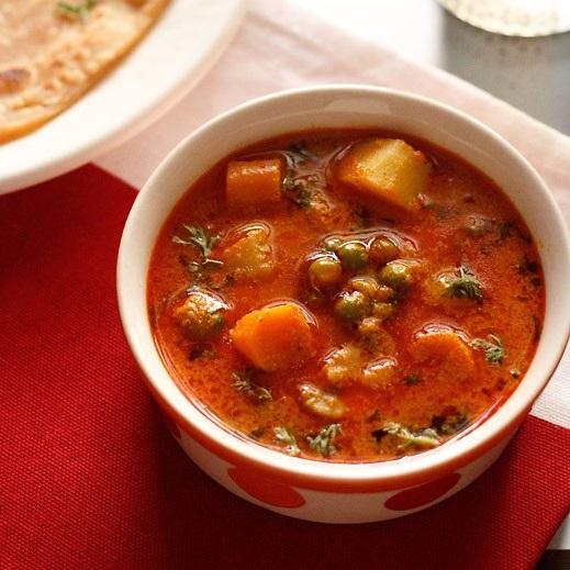 vegetable korma recipe, veg korma recipe