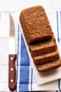 banana cake recipe, how to make eggless banana cake recipe