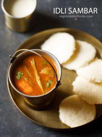 idli sambar recipe | hotel style idli sambar | tiffin sambar recipe