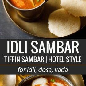 idli sambar, idli sambar recipe