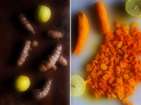 making turmeric pickle recipe
