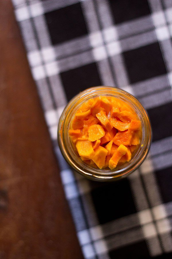 fresh turmeric pickle pickle