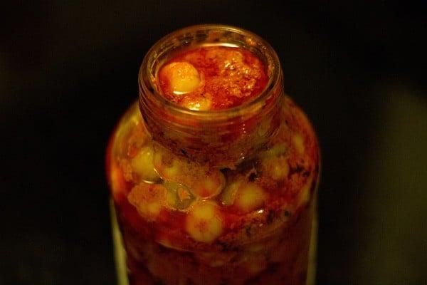 harfi achaar recipe, gooseberrypickle recipe