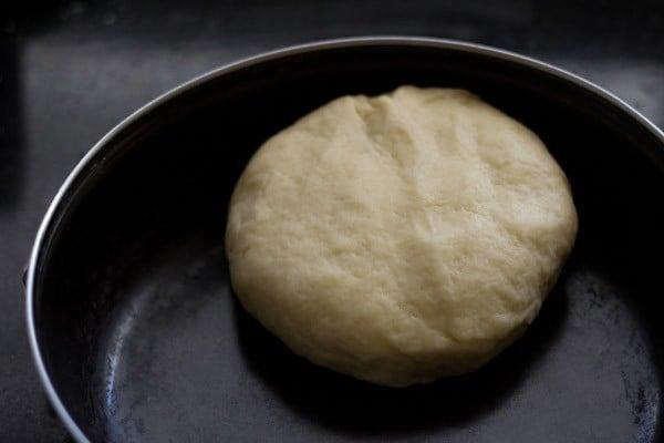 kneaded karanji dough
