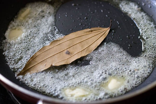bay leaf in butter