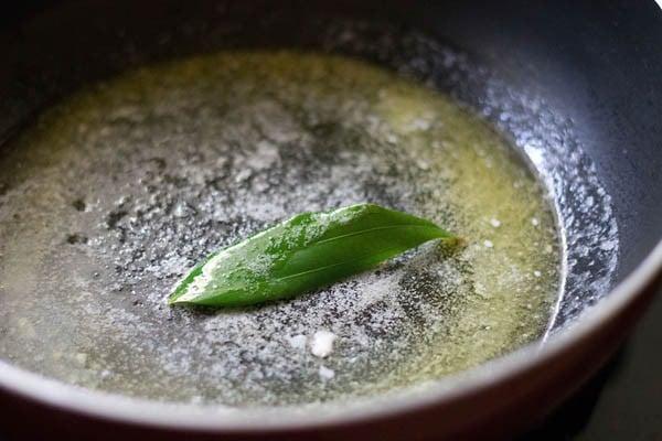 heat butter or makhan