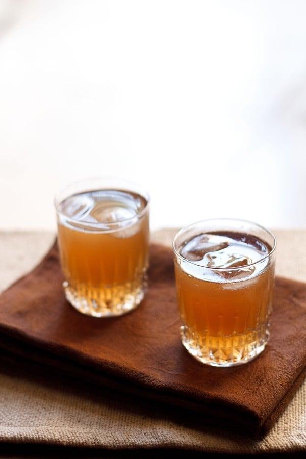 sandalwood sherbet recipe, sandalwood syrup recipe