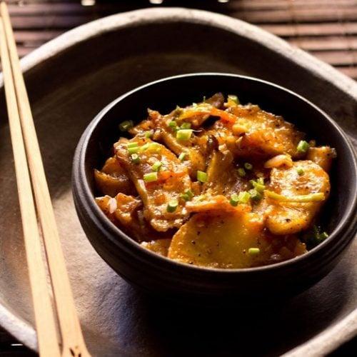 schezwan chilli potato