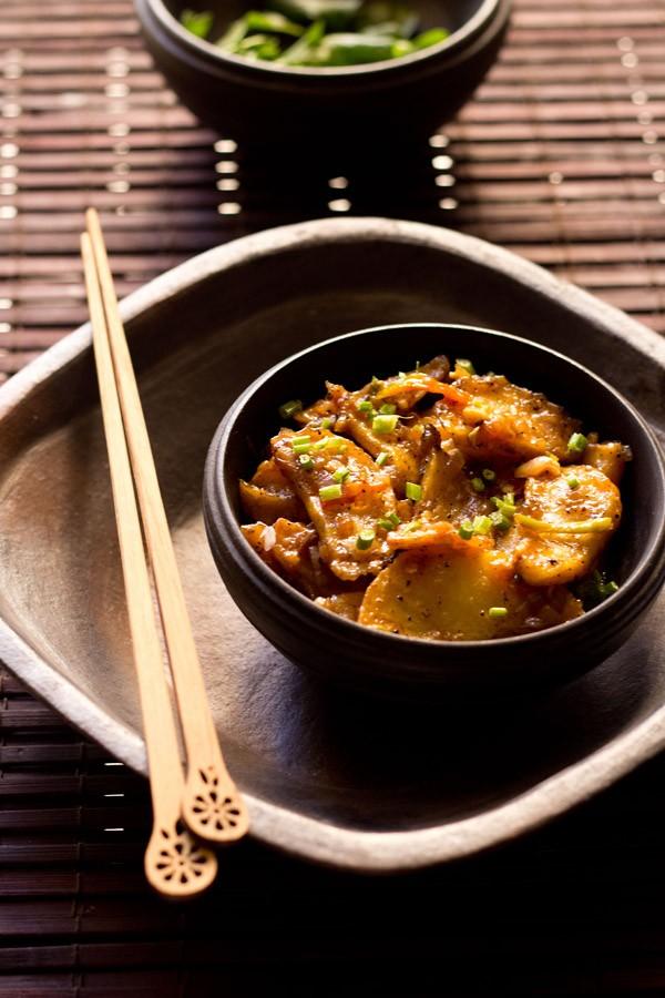 schezwan chilli potatoes recipe
