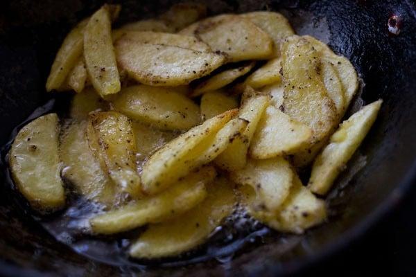 potatoes mixture for schezwan chilli potatoes recipe
