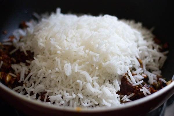 rice for veg schezwan fried rice masala