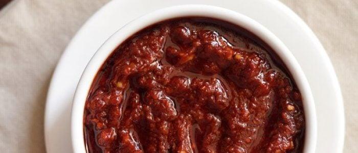 schezwan sauce recipe, how to make schezwan sauce