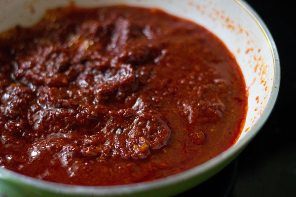 making schezwan sauce recipe