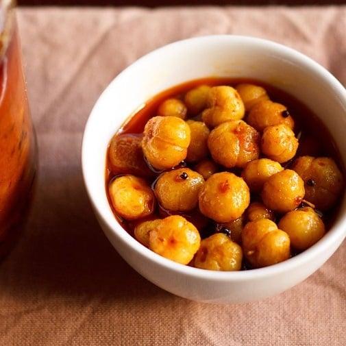 star gooseberry pickle recipe, harfi achaar recipe