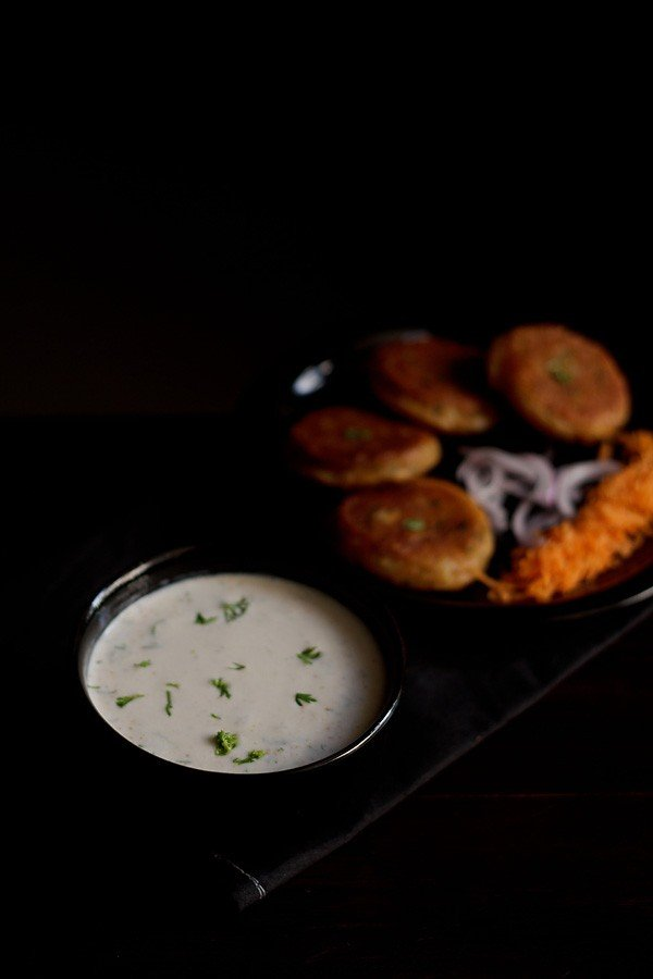 sweet raita recipe, meetha raita recipe