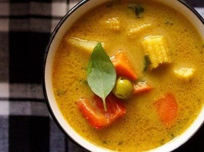 thai yellow veg curry recipe