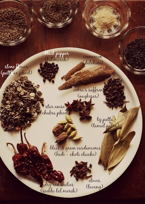 aromatic spices for goda masala recipe