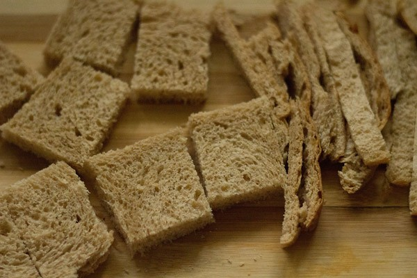 bread slices to make shahi tukra recipe